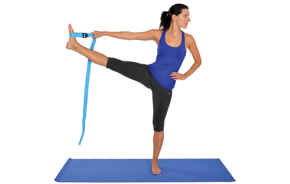 Pas (rzemień) do ćwiczeń Mambo Yoga Strap MoVes 180 x 3,8 cm 04-010203