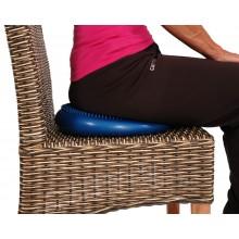 Poduszka sensomotoryczna (dysk) Mambo Standard Cushion MoVes, niebieska, 33 cm (z pompką) 04-020101