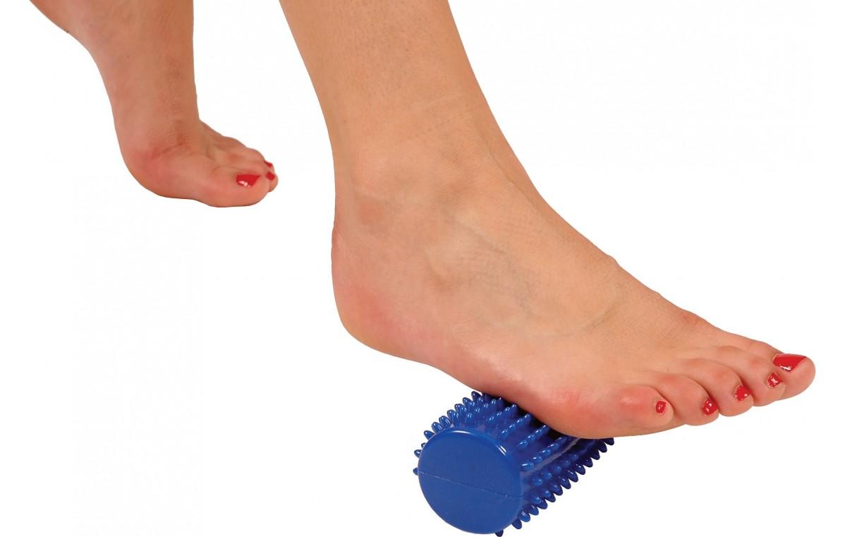 Wałek terapeutyczny (sensoryczny) Mambo Massage Roll MSD niebieski 16 x 5 cm 04-030121