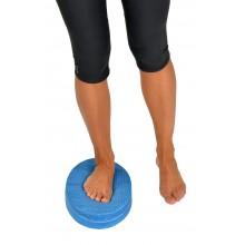 Trener równowagi (poduszka równoważna owalna) Mambo Balance Pad MoVes 37 x 22 x 6 cm niebieska (zestaw 2 szt.) 05-040302