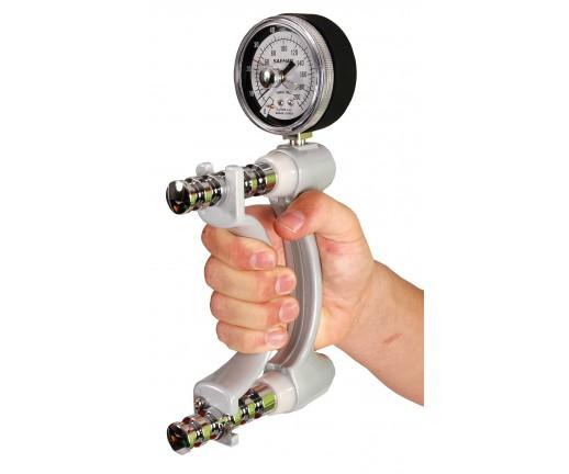 Hydrauliczny dynamometr (siłomierz) do pomiaru siły rąk - 08-010101