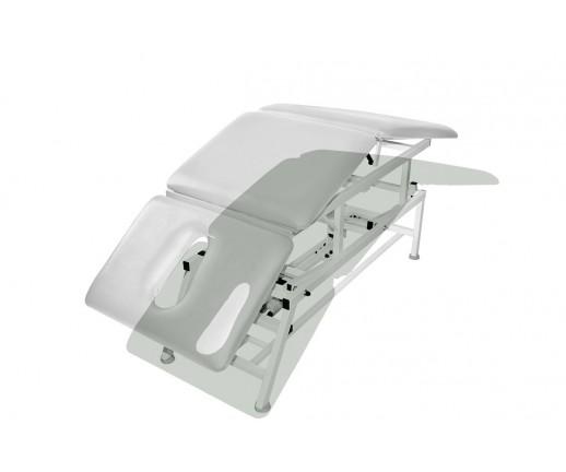 Stół rehabilitacyjny 3-cz. elektryczny z funkcją Pivot ręczny MASTER 3E-P