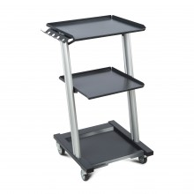 Stolik do aparatów do fizykoterapii (MODEL 2 aluminiowy)