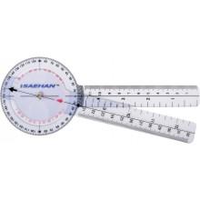 Goniometr plastikowy MoVes 20 cm 0 - 360 st. co 1 st. 08-030102
