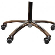 Taboret (krzesło) medyczne TR-02 (aluminiowa podstawa)