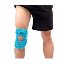 Okład (kompres) żelowy MoVeS Hot/Cold Pearl Pack na łokieć/kolano z perełkami żelowymi 43 x 17,5 cm - 07-040301
