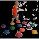 Półkula sensoryczna (Jeż) Mambo Stepping Stones MoVes 16 cm 04-030141