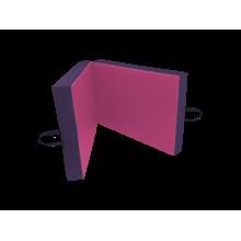 Materac dwuczęściowy 200x100x5 cm - NC141