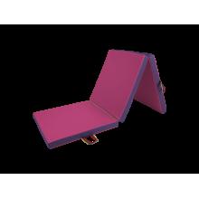 Materac trzyczęściowy 195x85x5 cm - NC144