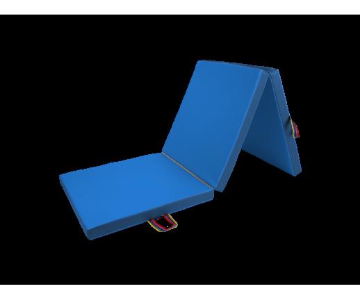 Materac trzyczęściowy 195x85x5 cm