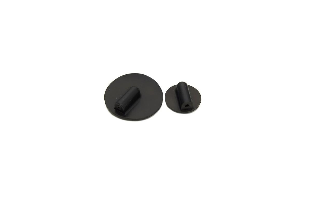 Elektroda silikonowa okrągła z gniazdem 4 mm, średnica 25 mm