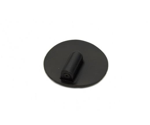 Elektroda silikonowa okrągła z gniazdem 2 mm, średnica 25 mm